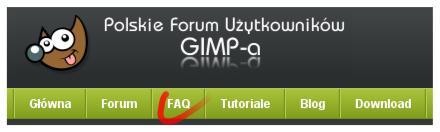 Zajrzyj do FAQ