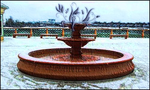 GF 43  - fontanna