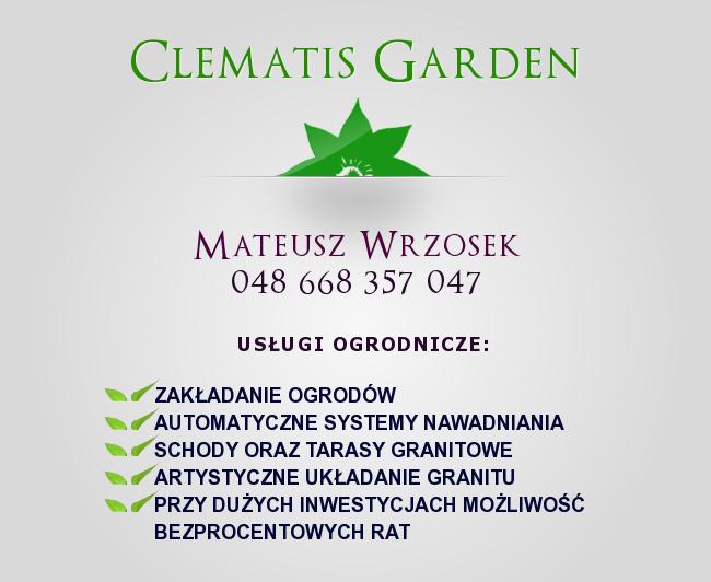 Clematis Garden 2