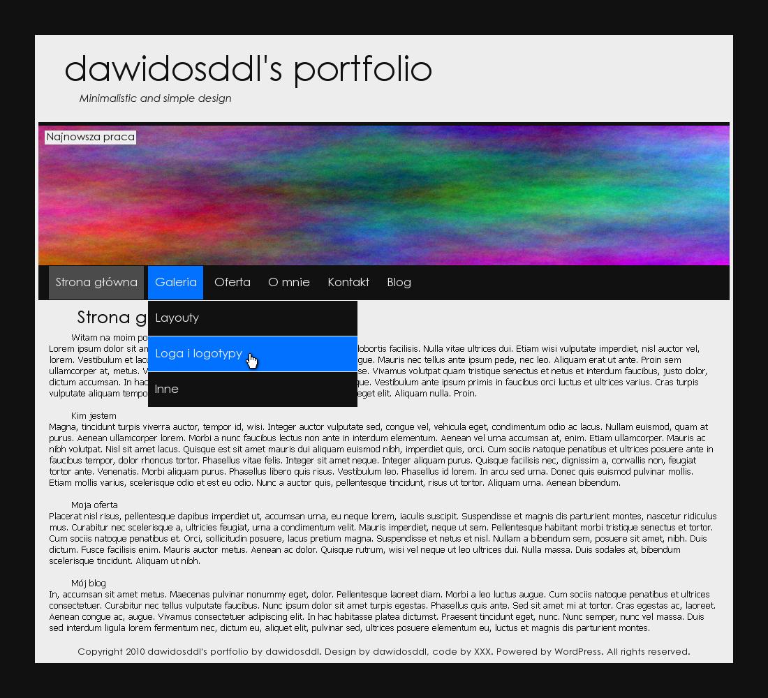 dawidosddl's portfolio