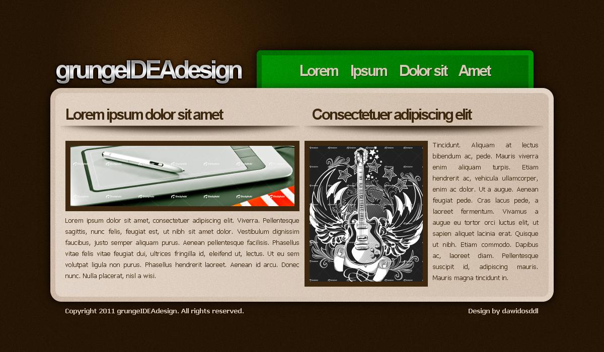 grungeIDEAdesign