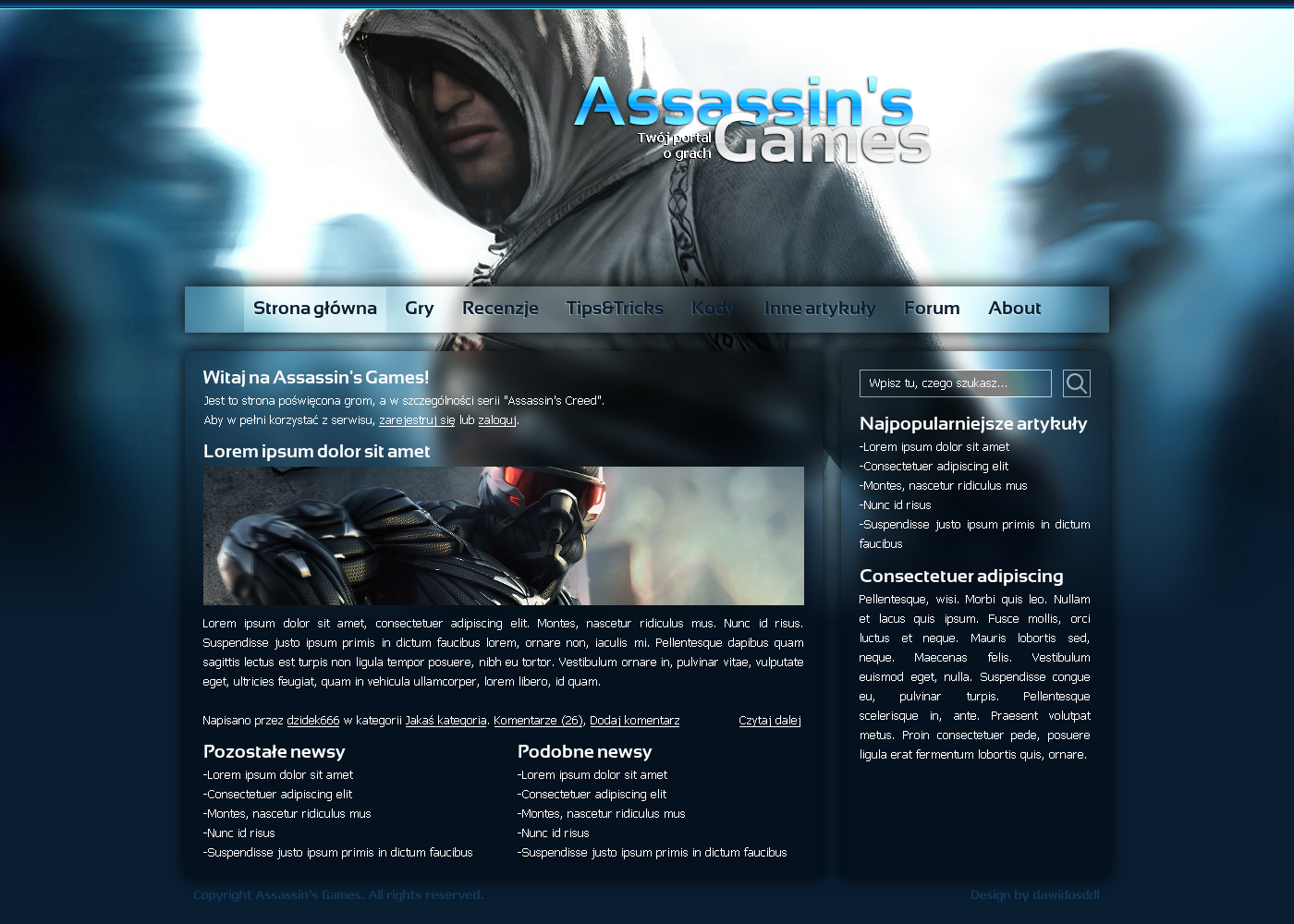 Assassin's Games