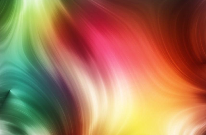 kolorowe smugi