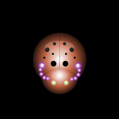 Biedroneczki są w kropeczki - tutorial na wykonanie Biedronki.