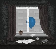Balonik zza okna