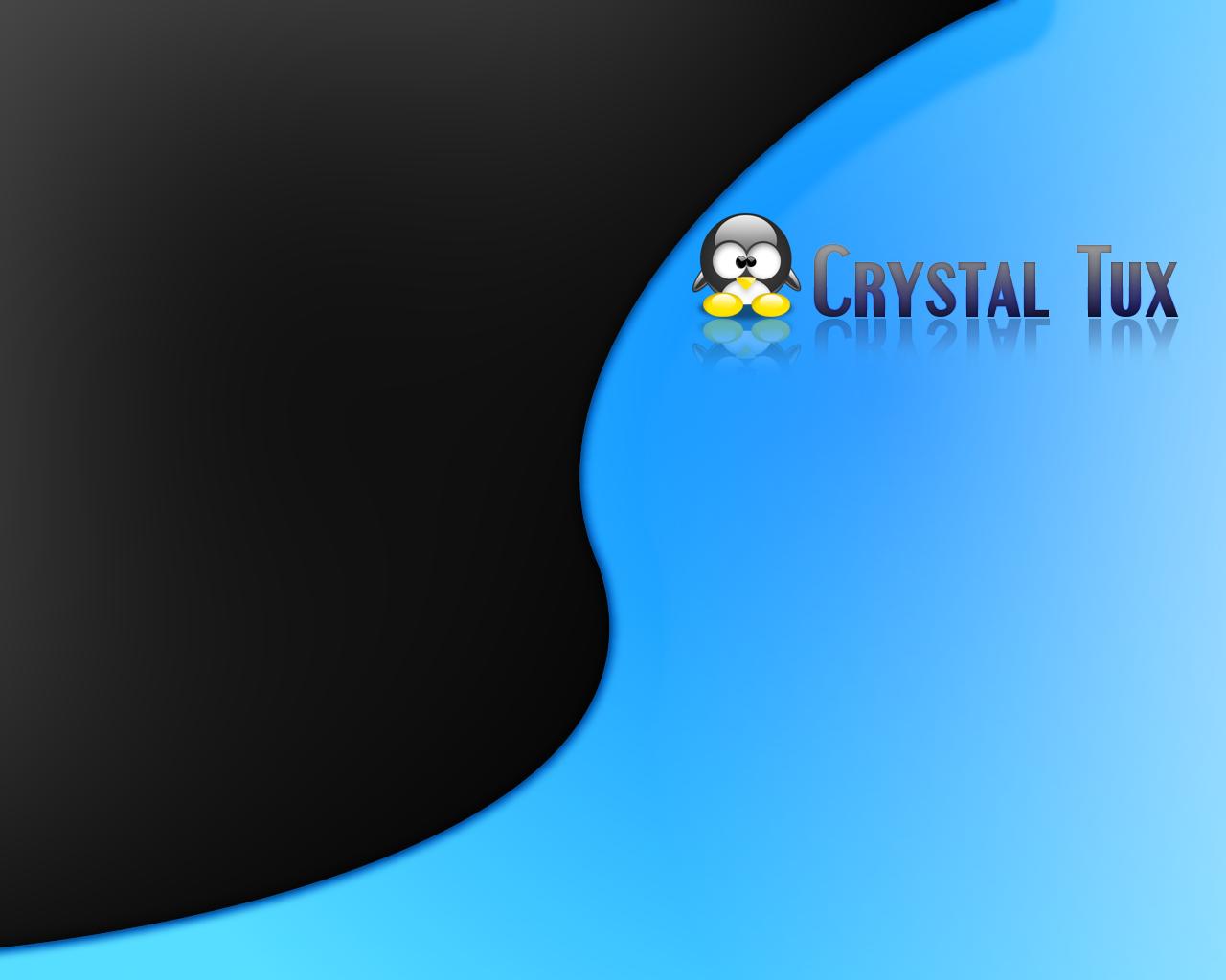 Crystal tux