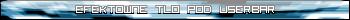 Efektowne tło pod userbar