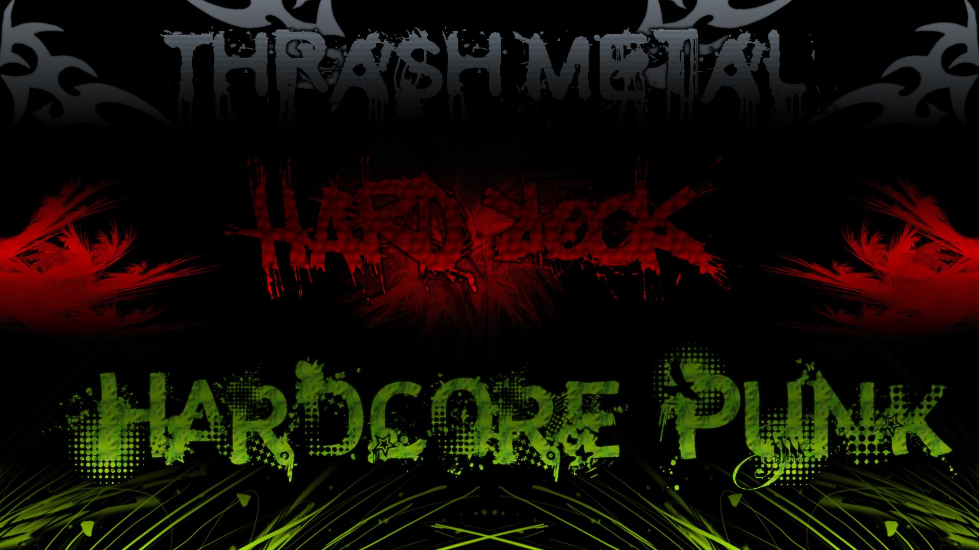 Rock, metal, punk