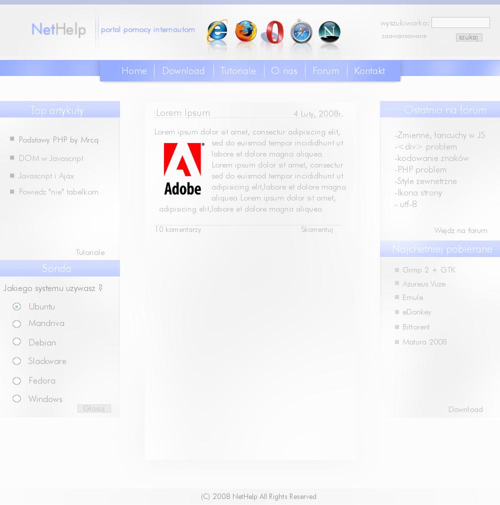 NetHelp Portal