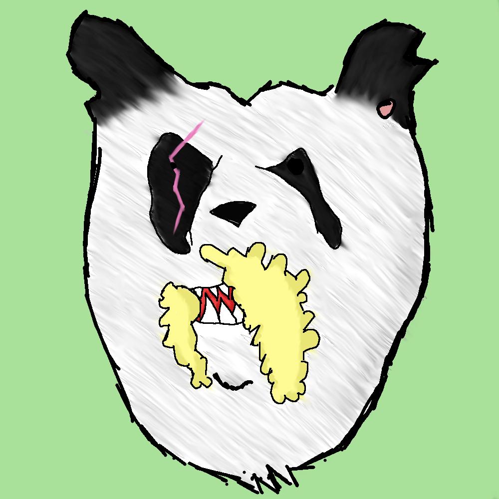 dziwna panda ;_;