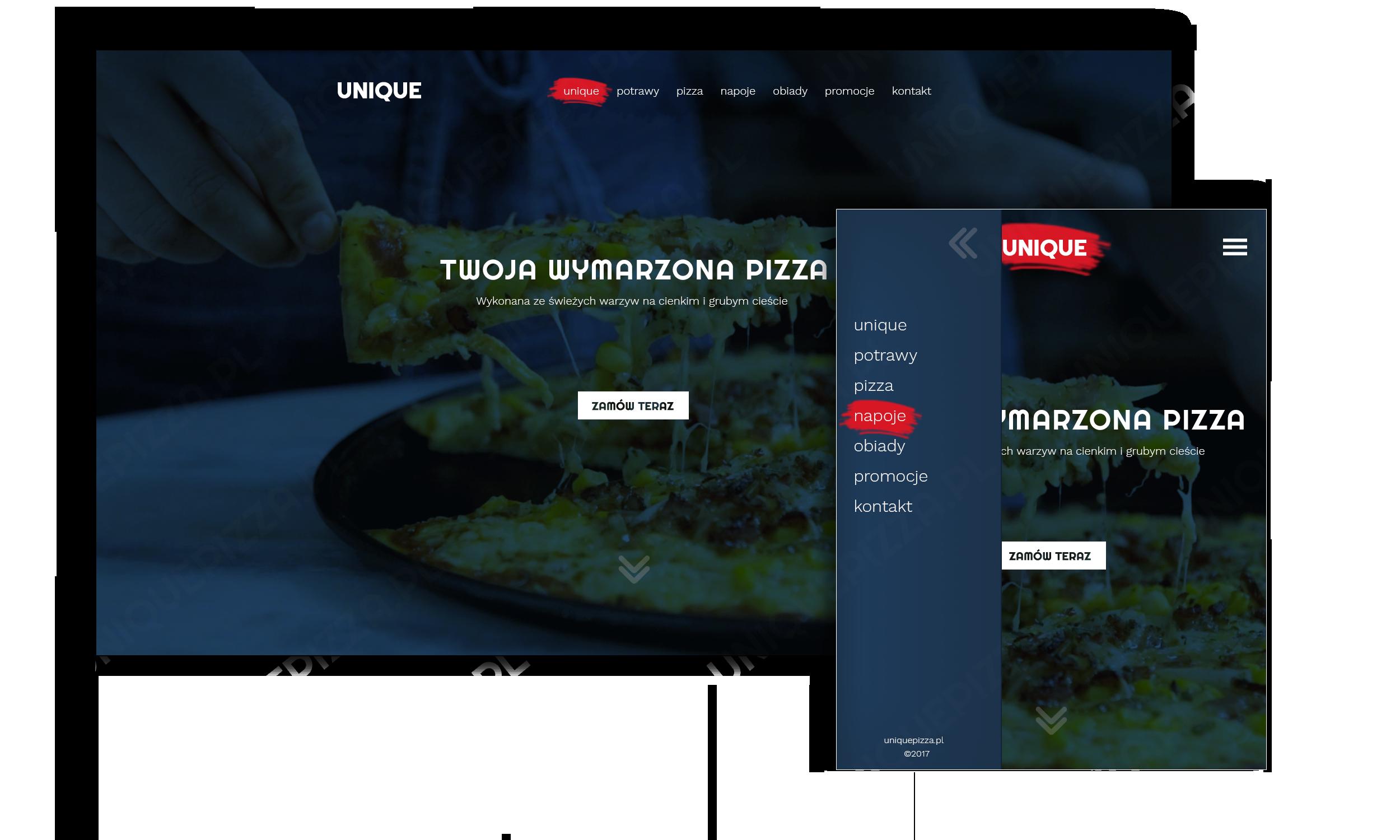 unique pizza
