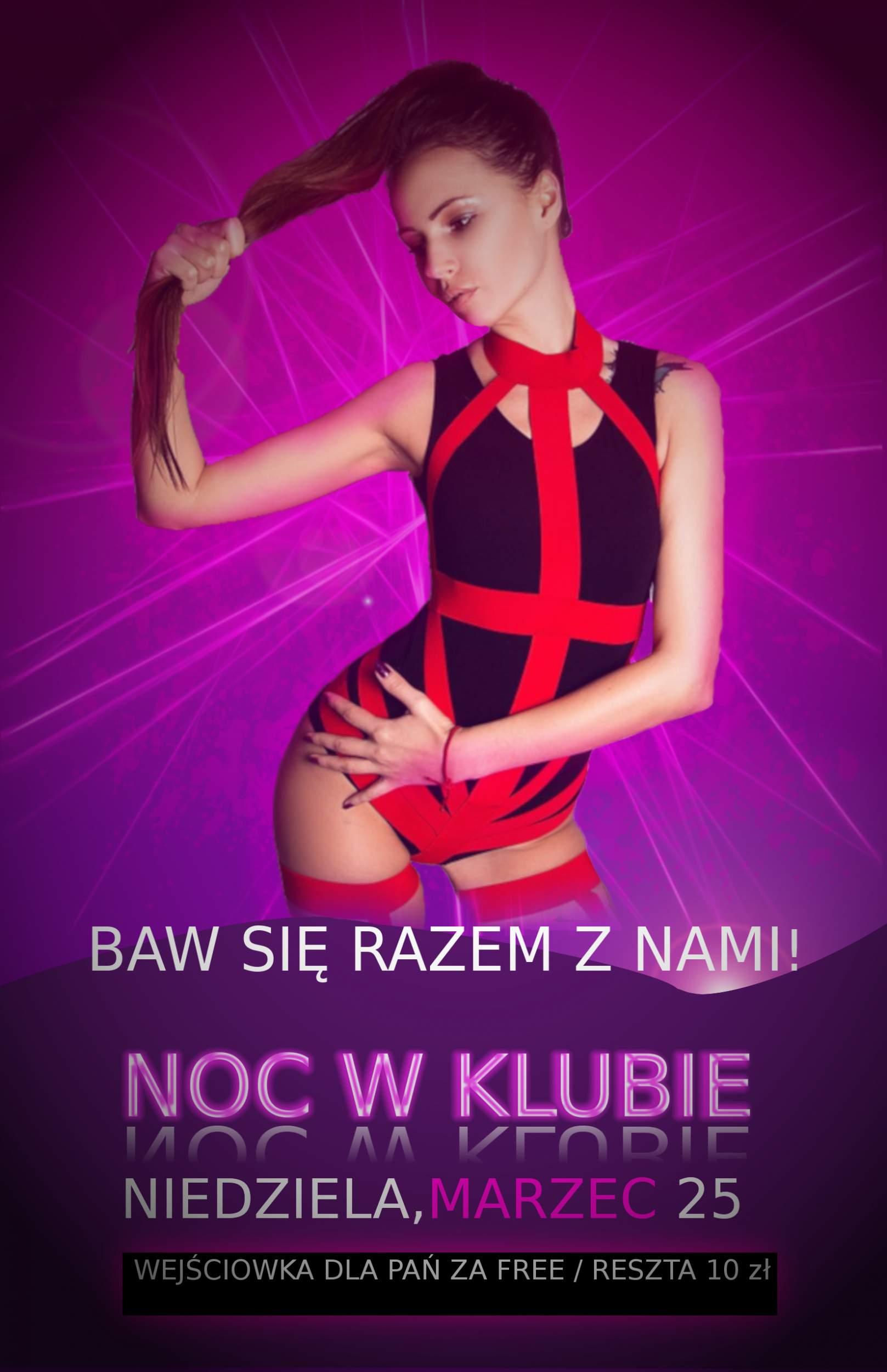 Plakat klubowy