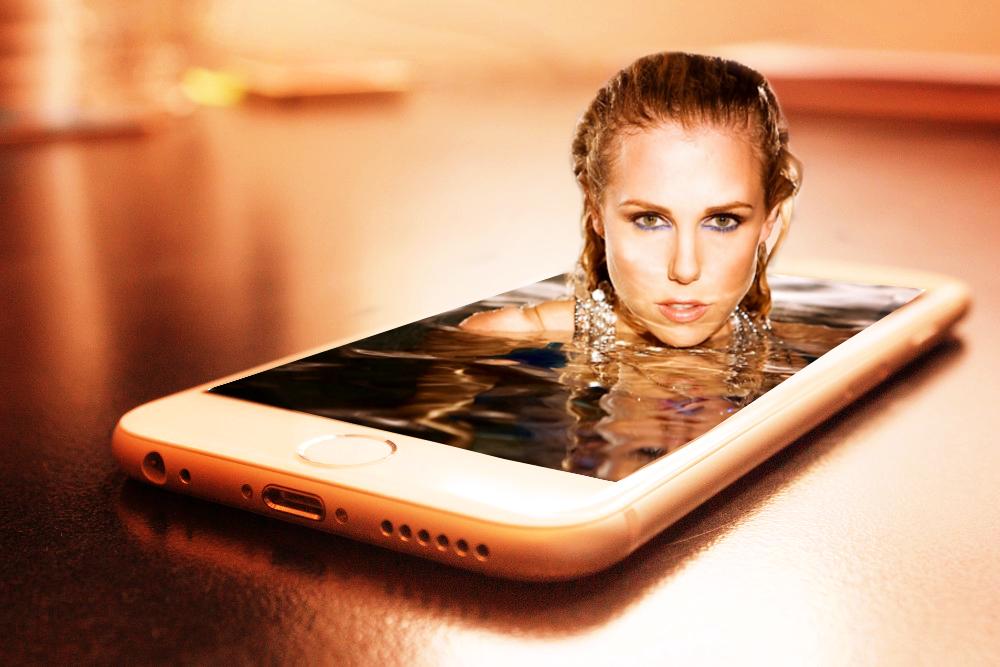 Kobieta w tlefonie