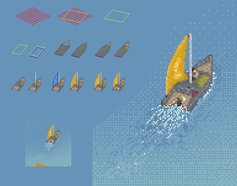 Łódka (18, -3)