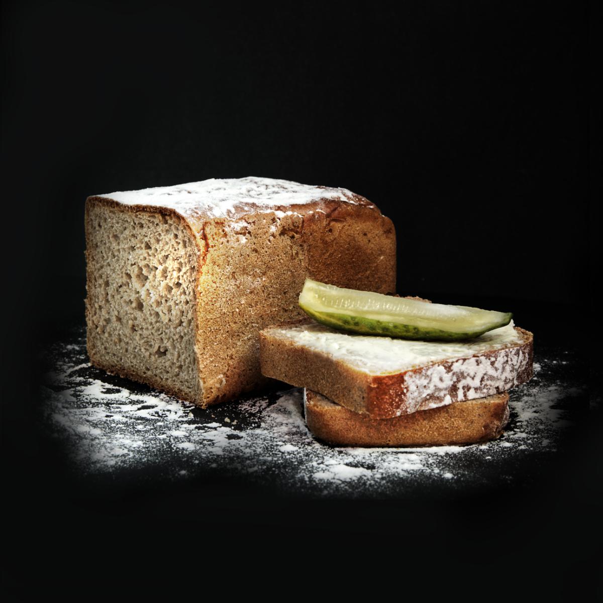 Chleb z ogórkiem