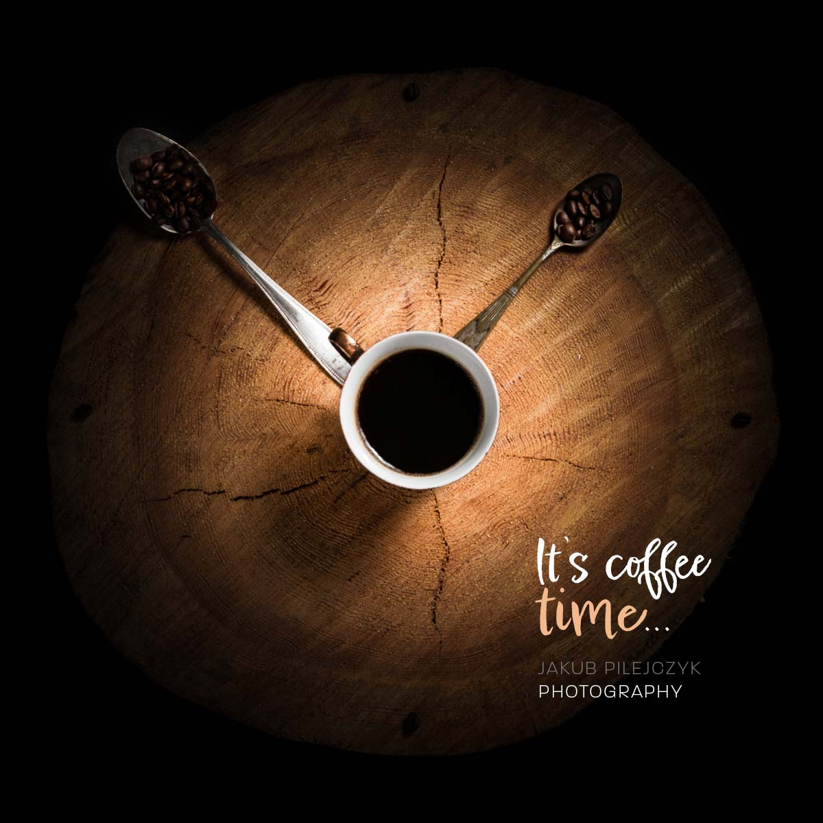 It's coffee time...